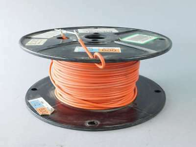 305ft Spool of 12AWG Orange, Stranded, Machine Tool Wire 1015-12/65-3 - NEW S...