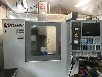 2001 Haas Mini Mill with LOW HOURS and VIDEO Minimill
