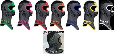 "Fxr ""shredder"" Balaclava Snowmobile Frostbite Block Facemask - Pick Size & Color"