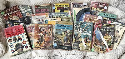 HUGE LOT of 24 Vintage Books ALL in Protective Plastic! Many 1st Prints, Resell