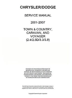 chrysler sebring 2007 manual pdf