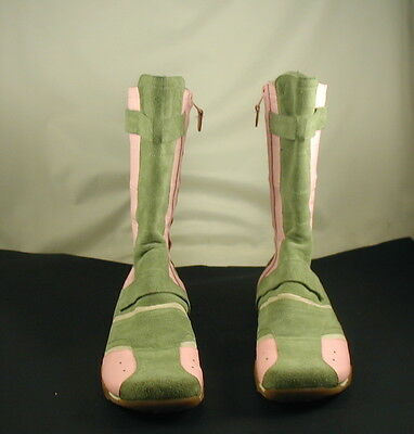 Diesel Suomi Mold/Peony Leather Boots -- Youth Size 5