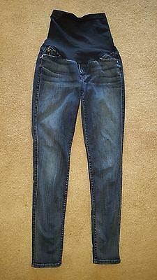 7 For All Mankind Collection Maternity Jeans - sz 29 - Dark Wash Skinny Ankle