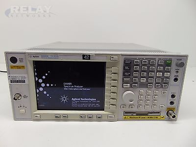 Agilent E4440A PSA Series Spectrum Analyzer 3Hz -26.5GHz w/ 4 Options