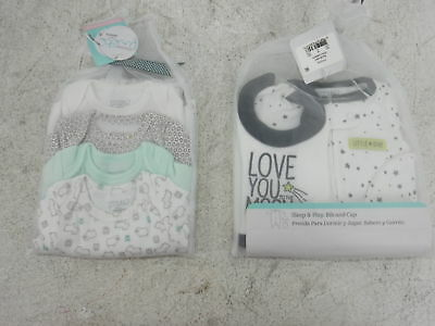 Carter's Just One You Precious Firsts Newborn Outfits Sleep Play Bib Cap