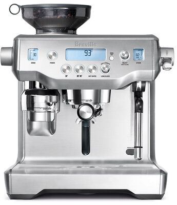 New Breville the Oracle    Manual Espresso Coffee Machine BES980BSS