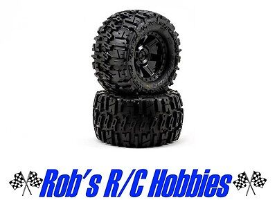 Proline 117013 Trencher 2.8 Mounted Tire & Wheel Pair Rustler and Stampede Rear