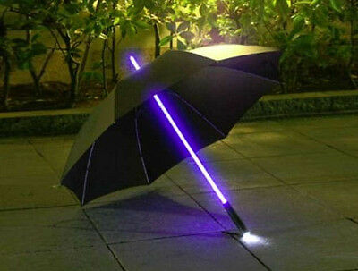 New LED Light-Up Umbrella with Torch Lightsaber Star Wars Blade Runner Style