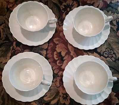 Myott Olde Chelsea Staffordshire Lot of 4 cups and Tea Plates