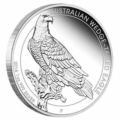 Australian Wedge-tailed Eagle 2016 1oz Silver Proof Coin