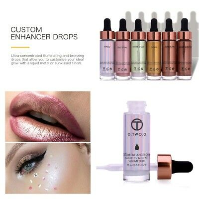 Concentrated Skin Face Liquid Highlighter Cream Brush Glow Bronzing Drops Makeup