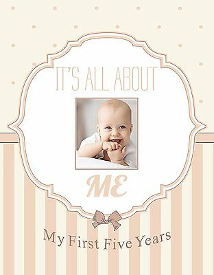 Normson First and Five Year Baby Memory and Record Book, Journal, Photo Album