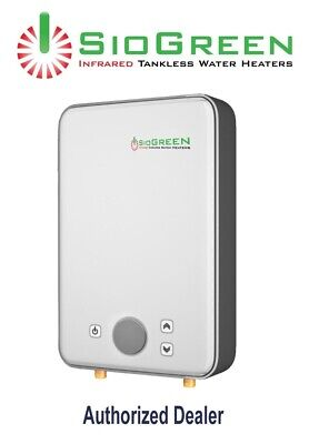 Electric Water Heater Tankless SioGreen Infrared Best IR288POU 220 volt 2.1 GPM
