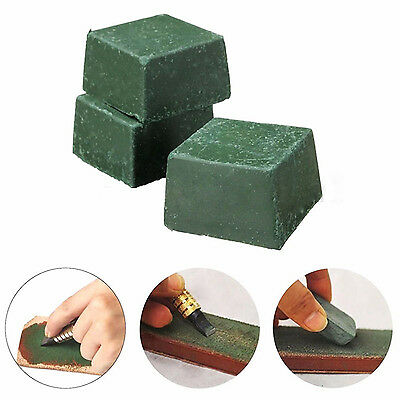 WELL 3PCS Leather Strop Sharpening Polishing Compound Leathercraft Abrasive Tool