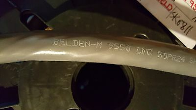 Belden Wire 9550 24/50P Overall Shield Twist Pair Control/Computer Cable /20ft