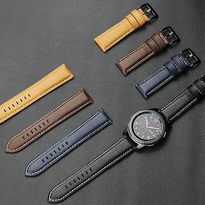 Watch Band Luxury Leather Bracelet Strap For Samsung Gear S3 Frontier/Classic