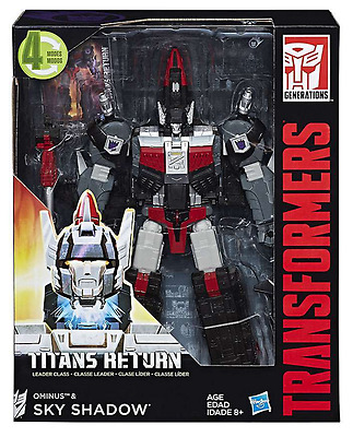 Transformers Titans Return Leader Class Decepticon Sky Shadow & Ominus
