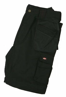 Lee Cooper Men's Regular Pantalon Cargo, noir