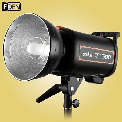 Godox Professional QT-600 600W HSS 1/5000s Studio Strobe Flash Light 220V 230V