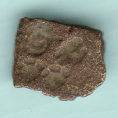 Ancient India - Copper Punchmark - Rarest Copper Coin