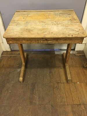 Vintage Children's School Desk