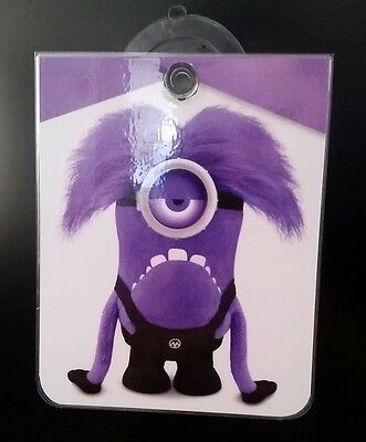 Demon Purple Minion Removable Car Cristal Window Sign