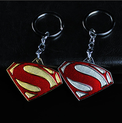 Avengers Alloy Superman Metal Keychain Superhero Keyring Key chain Boy Gifts