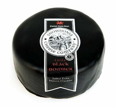 BLACK BOMBER 200g Cheese Truckle from Award Winning Cheese company Snowdonia