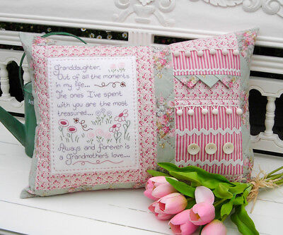 Quilting Sewing Cushion Pattern Sally Giblin's Rivendale Collection GRANDDAUG...