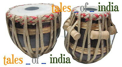 Miniature Tabla Set~Dayan + Bayan~Baby Tabla~Tabla Lovers~Beautiful Decoration