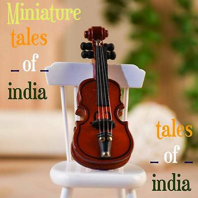 Beautiful Miniature Violin for Decor~Home Decoration~Music Lover~Baby Violin~TOI