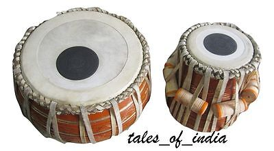 Tabla set~Full Drum Set~Mud Bayan~Mahogany Dayan~Hammer~Cover~Dhakkan~Cushion