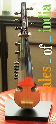 Baby Sarod~Decor~Miniature Sarod~String Instrument~Collectible for music lovers