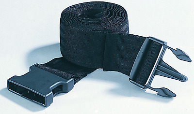 Trimbio Fixation Belt Mobilisation Belt Mulligan Black Nylon 2.5m Brace Supports