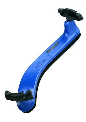 NEW Everest 4/4 size blue violin shoulder rest spring collection (ES Model)