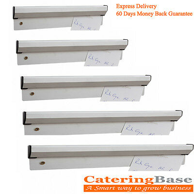 ALUMINIUM TAB ORDER Grabber Bill Tickets Waiter Food Pad Wall 12 18 ...