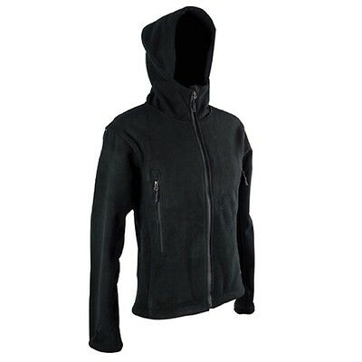 Fleece-Jacke Tactical, Schwarz