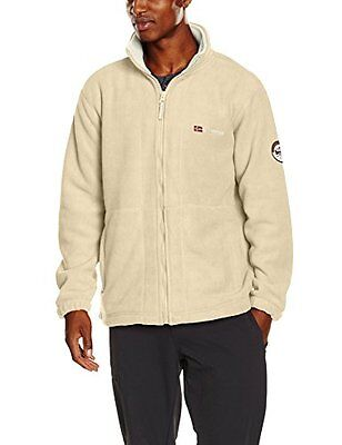 Geographical Norway Korleon Men Geo, Vestes Homme, Beige (Desert/Off White), XX-