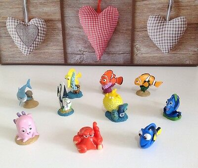 **9 FINDING NEMO SOLID MINI FIGURES*FINDING DORY* DISNEY PIXAR Cake Toppers