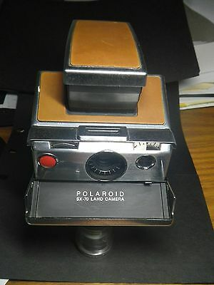 Vintage Poloroid SX - 70 Folding Land Camera With Case