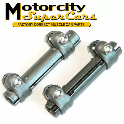 1964-70 Olds Cutlass 442 GM A-Body Tie Rod Sleeves 2 Pair Set Factory Correct