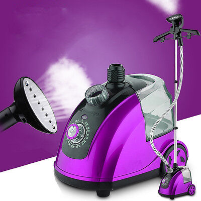 220V 50Hz Electric Vertical Steam Iron Hanging Clothes Standing Garment Steamer