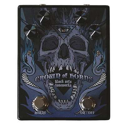 Black Arts Toneworks Crown of Horns Fuzz Pedal. Brand New - Authorized Dealer