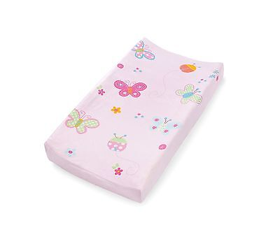 Summer Infant Ultra Plush Character Changing Pad Cover Butterflies & Ladybugs