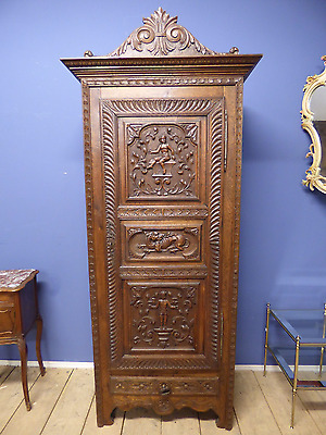 Lovely Antique French Armoire - Just In - v48