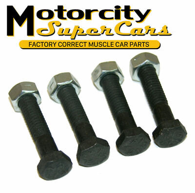 1964-77 Olds Cutlass 442 GM A-Body Tie Rod Sleeve Bolts Nuts Factory Correct RSC