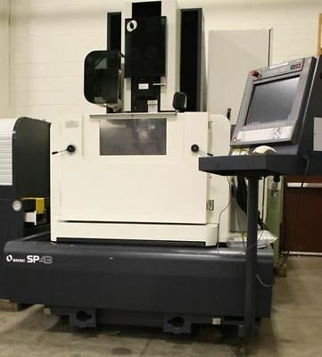 Makino No. SP43 CNC Wire Type Electrical Discharge Machine (EDM) with U/V Axis.