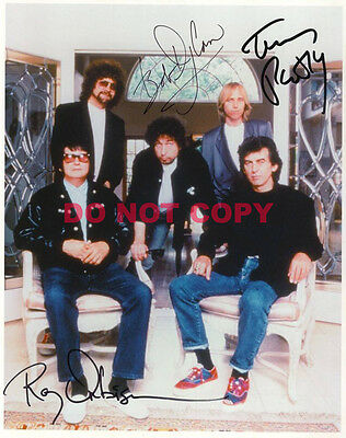 REPRINT RP 8x10 Signed Photo Picture: Traveling Wilburys