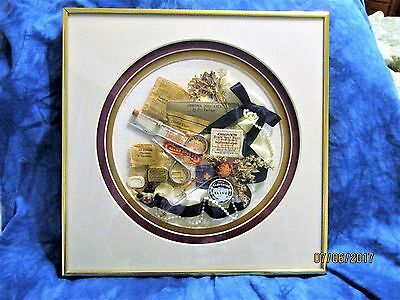 Antique Physicians / Surgical / Pharmaceutical Collection Shadow Box