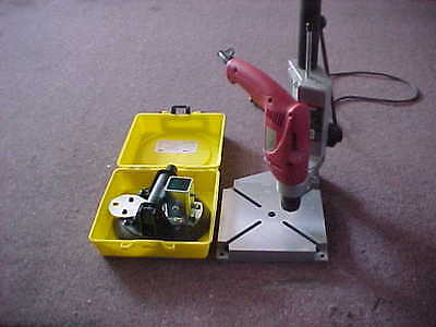 new CRL S108 Pump Action Vacuumm & 3/8 metabo glass tool drill stand type 890